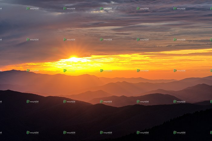 Single photo enhanced with easyHDR 3.13.0: Smokey Mountains Day 2 (406 of 485).ARW