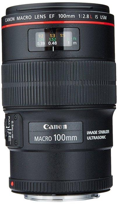 a canon standard macro lens