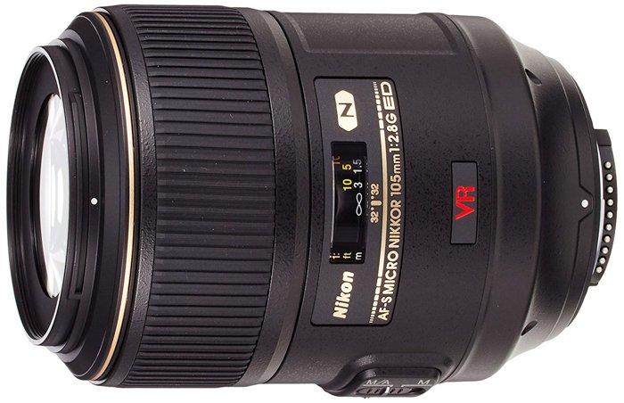 a Nikon macro lens