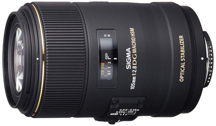 a Sigma macro lens