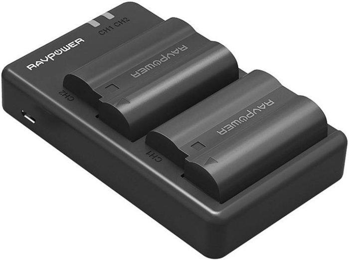 A Ravpower camera batteries for Nikon cameras
