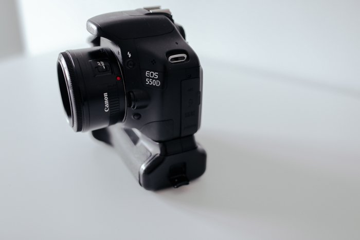 A Canon EOS 550D camera