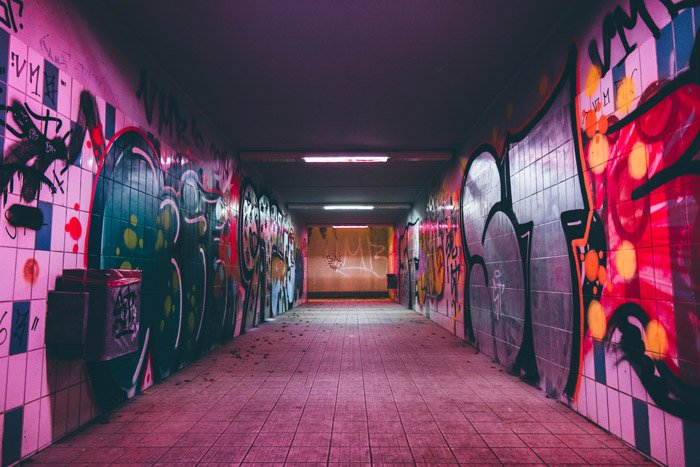 Photo of an underpass urban photography
