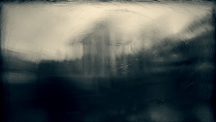 Motion blur photo shot with an analogue camera