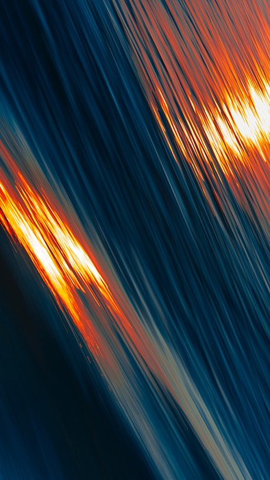 Abstract motion blur photo of a waterscape
