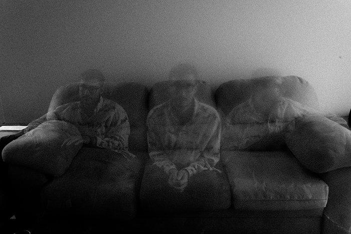 Artistic motion blur photo