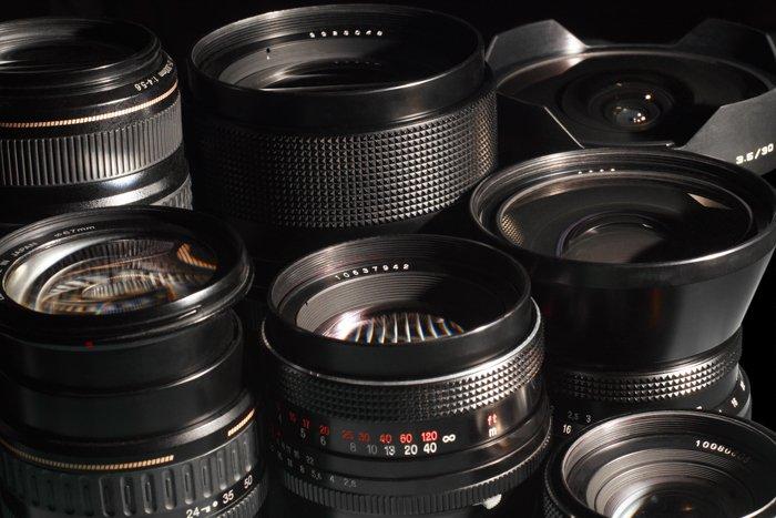 A range of Tokina lenses highlighting Tokina lens abbreviations