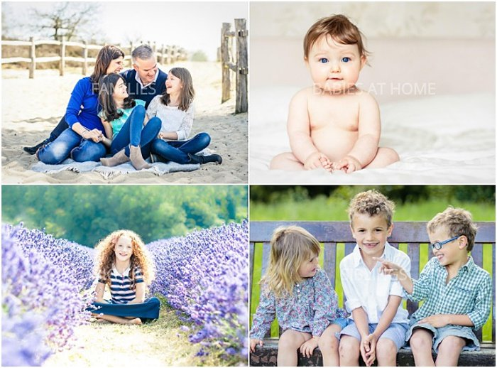 A montage of family photos from Vicki Knights