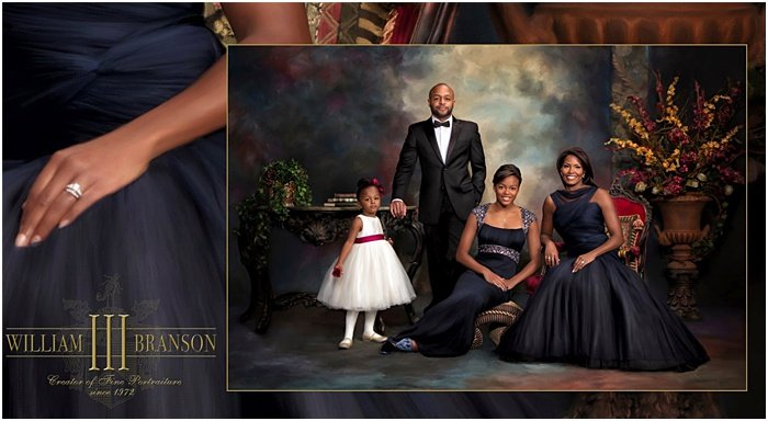 Classic-style family photo by William Branson