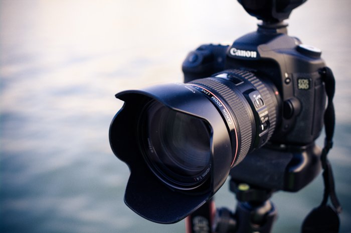 Photo of a Canon camera