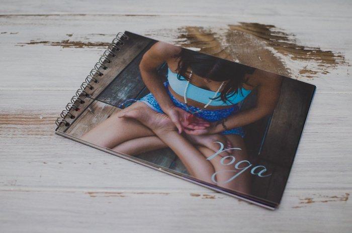 a printed digital photo diary