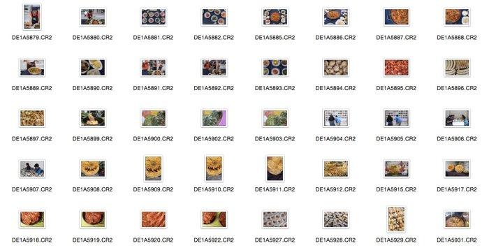 Illustrative photo of RAW files