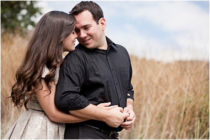 A natural couple pose
