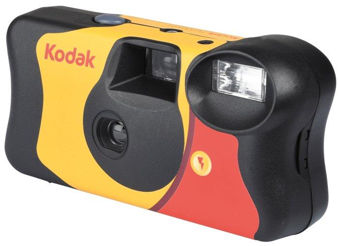 Photo of a point-and-shoot Kodak camera