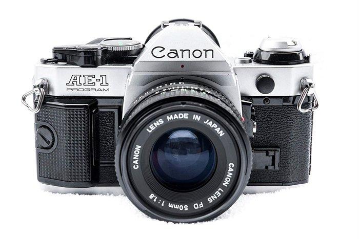 Photo of a Canon AE-1