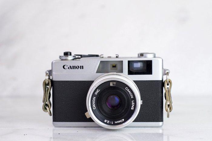 Photo of a Canon film camera