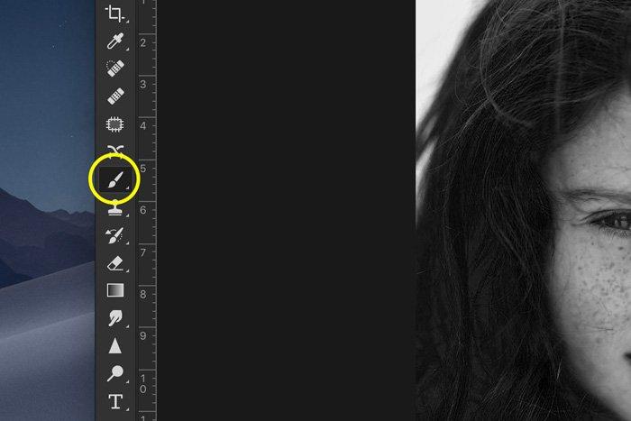 Screenshot of Lightroom masking