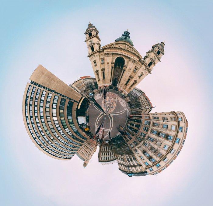 360 photo of Saint Stephen's Basilica in Budapest