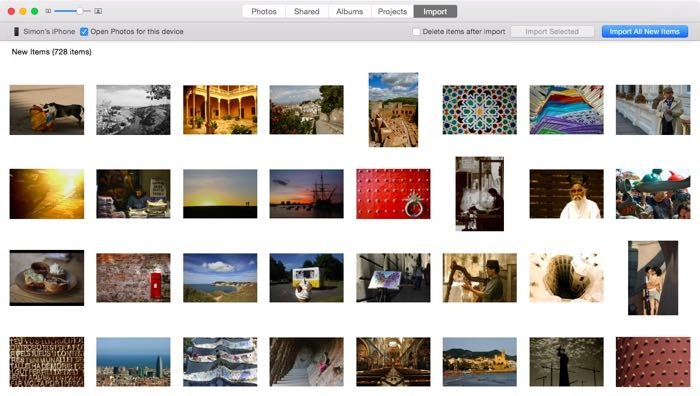 a screenshot showing how to transfer photos to either your PC or your Mac with photo app
