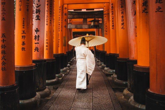 Traditional Japanese photo