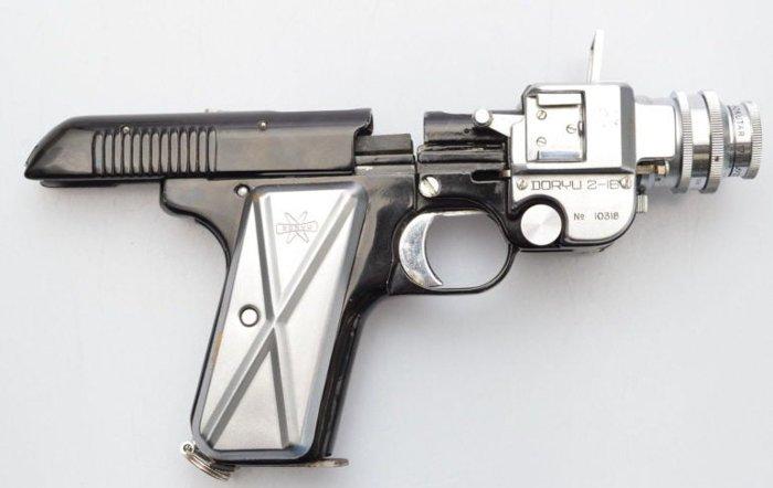 Doryu 2-16 Japanese Police gun camera