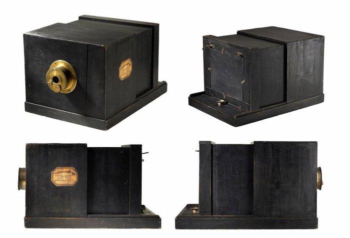 Susse Freres Daguerreotype camera