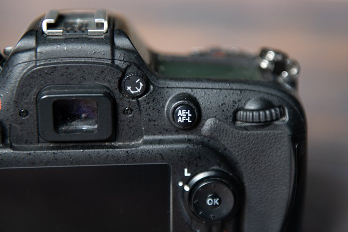 the nikon ae-l and af-l button