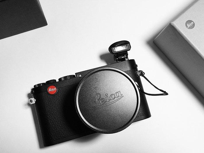 Photo of a Leica camera