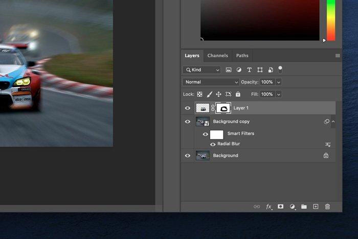 Screenshot of Photoshop