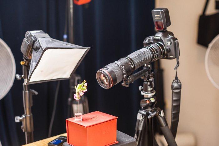 macro photography studio setup