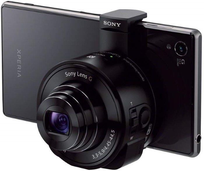 Sony QX10 lens