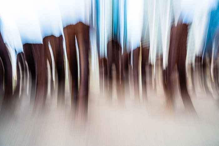 Abstract photo with blurred effect