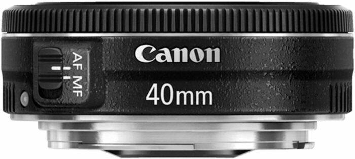 Canon EF 40mm f/2.8 STM lens for fine art photos