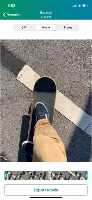 Photo of a skateboard