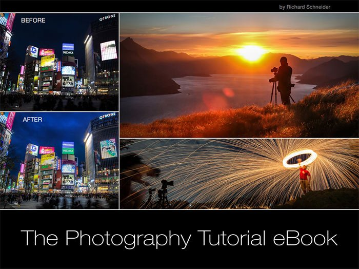 Promotional image of the Photography Tutorial eBook