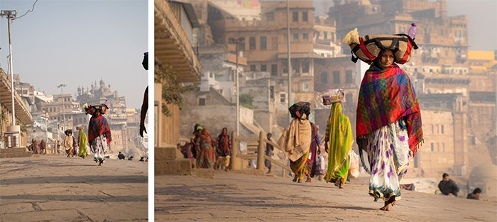 A rule of composition: A street scene diptych before and after editing