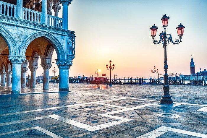 San Marco square in Venice