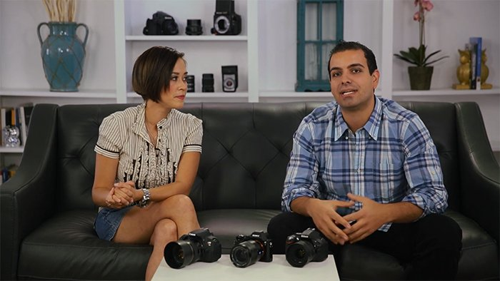 A screenshot from SLR lounge Photography 101 video course