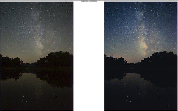 Pretty landscape photo edited with Alhena Lightroom presets