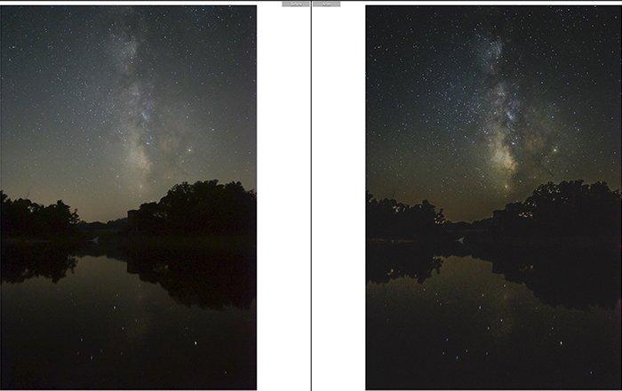 Pretty landscape photo edited with Brandenburg Lightroom presets
