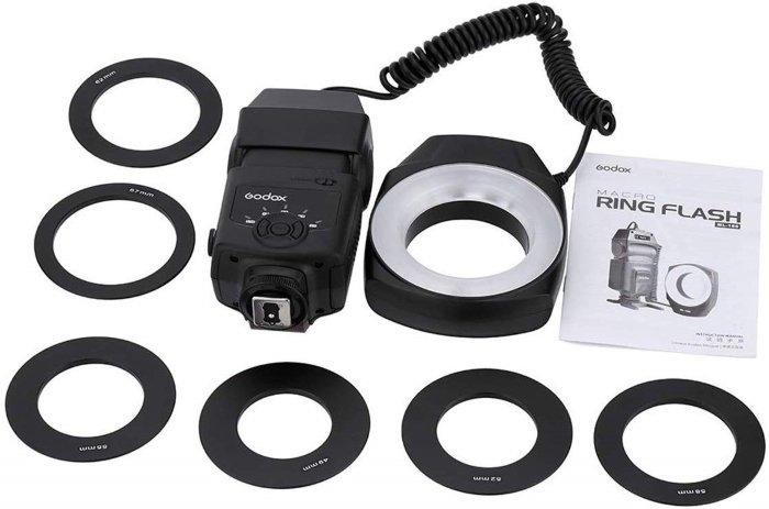 Godox macro flash ring set