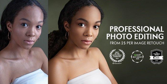 Screenshot of Fixthephoto retouching website