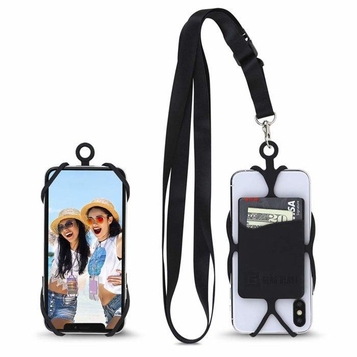 Gear Beast Universal Crossbody Pocket Cell Phone Lanyard