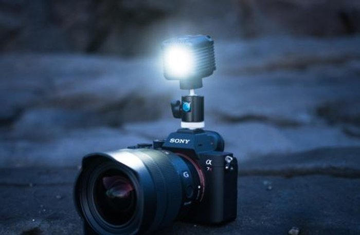 Lume Cube 2.0 on a Sony Camera