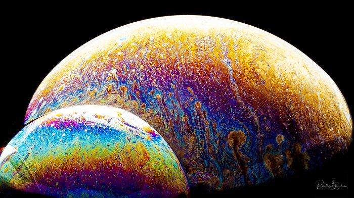 Bubble photography by Ronaldas Grizickas