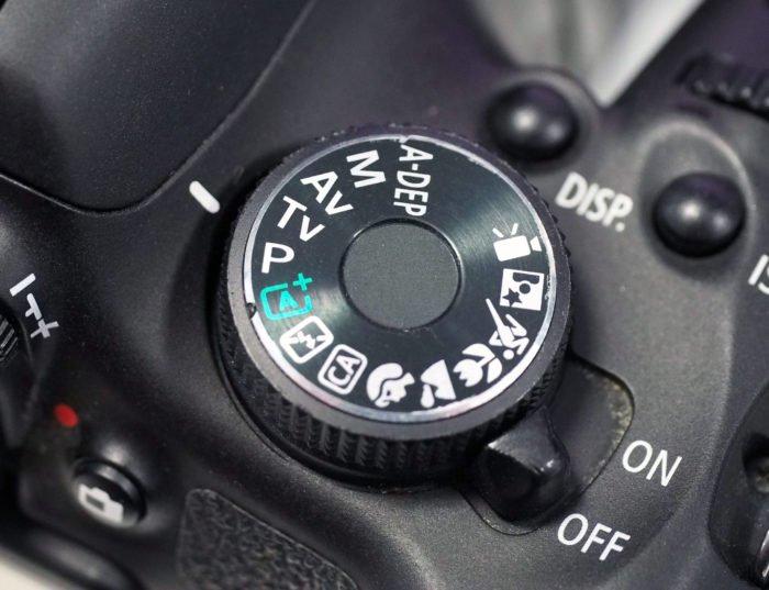 关闭数码相机的控制表盘