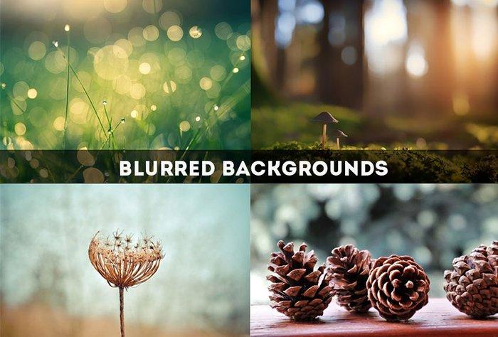 Blur Background Photoshop Action