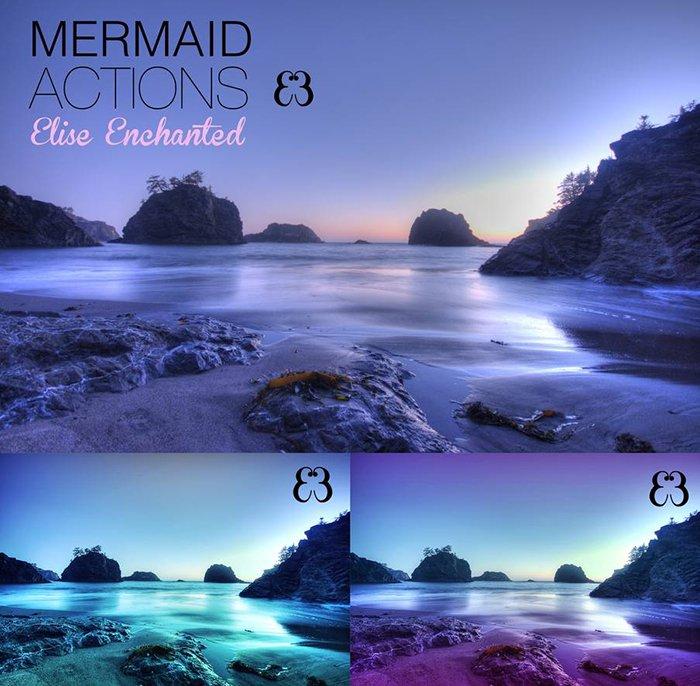 Free Mermaid Actions