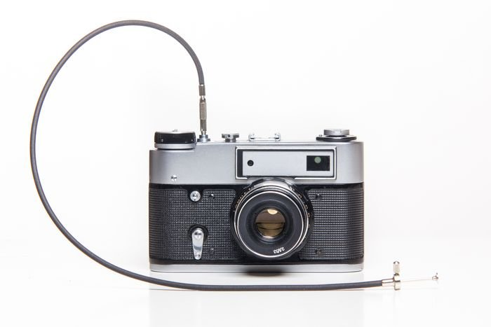 camera with a remote release