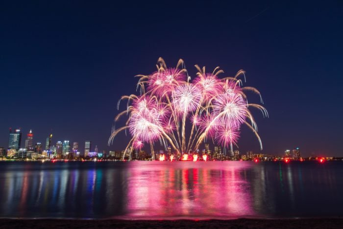 Photo of colorful fireworks